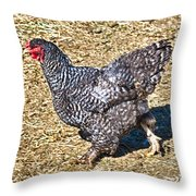 Fleeing From The Colonel ? Throw Pillow