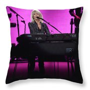 Fleetwood Mac - Christine Mcvie Throw Pillow