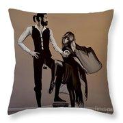 Fleetwood Mac Rumours Throw Pillow