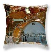 Fleetwood's Drums Throw Pillow