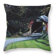 Fleisher's Bridge Throw Pillow
