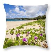 Fleming Beach Throw Pillow