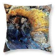 Fleur Of The Sea Throw Pillow