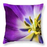 Fleur Viii Throw Pillow