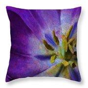Fleur X Throw Pillow