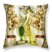 Fleurdelys Throw Pillow