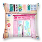 Fleuriste Throw Pillow