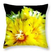 Fleurs De Cactus 2 Throw Pillow