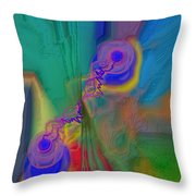 Fli D3signs 15 Throw Pillow