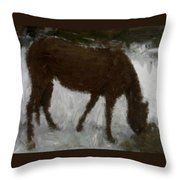 Flicka Throw Pillow