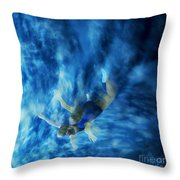 Flight For Two 2 Throw Pillow