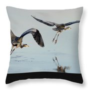 Propped Up Throw Pillow