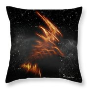 Flight Of The Eagle - Featured In Comfortable Art And Spect Artworks Notecard Possibilities  Throw Pillow