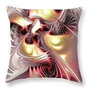 Flight Of The Phoenix Throw Pillow by Anastasiya Malakhova