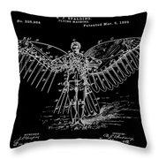Flight Suit Throw Pillow