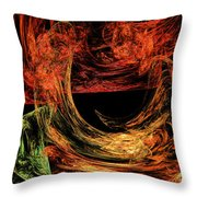Flight To Oz Throw Pillow by Andee Design