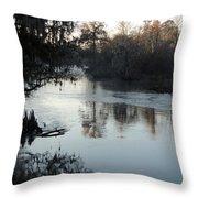 Flint River 20 Throw Pillow