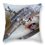 Flintlock Musket Throw Pillow