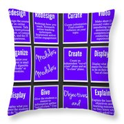 Flipping Online Throw Pillow