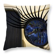 Flirting With A 1933 Ford Throw Pillow