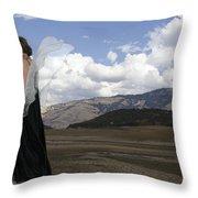 Flirty Fairy Throw Pillow