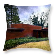 Fllw Rosenbaum Usonian House - 1 Throw Pillow