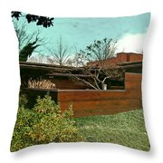 Fllw Rosenbaum Usonian House - 3 Throw Pillow