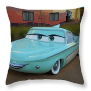 Flo Throw Pillow