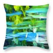 Float 4 Vertical Throw Pillow