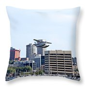 Float Plane Throw Pillow