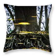 Floating Away On A Reflection Throw Pillow