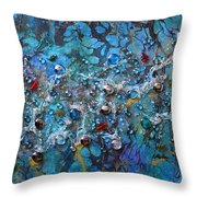 Floating Down The River Throw Pillow