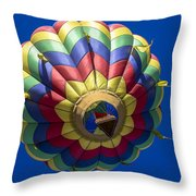 Floating Free Throw Pillow