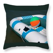 Floating Fun Throw Pillow