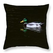 Floating In Peace Throw Pillow