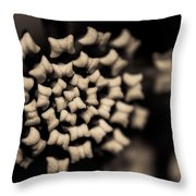 Floating Into The Dark II Throw Pillow by Marco Oliveira
