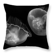 Floating Lamps Throw Pillow