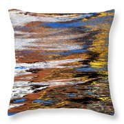 Floating On Blue 12 Throw Pillow