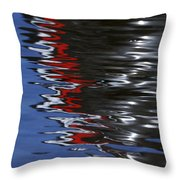 Floating On Blue 14 Throw Pillow