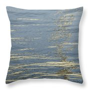 Floating On Blue 17 Throw Pillow