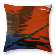 Floating On Blue 26 Throw Pillow