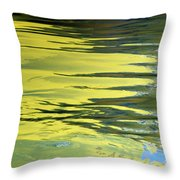 Floating On Blue 27 Throw Pillow