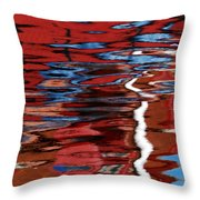 Floating On Blue 28 Throw Pillow