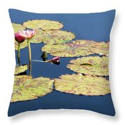 Floating On The Breath Throw Pillow