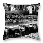 Floating Pictures Throw Pillow