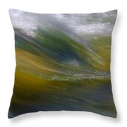 Floating River 2 Throw Pillow