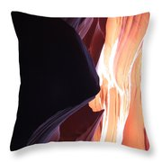 Floating Sandstone Throw Pillow
