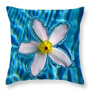 Floating Soul Throw Pillow