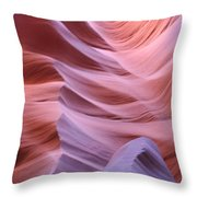 Floating Stone Throw Pillow