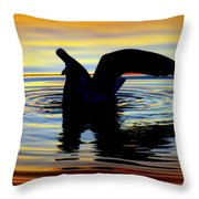 Floating Wings Throw Pillow